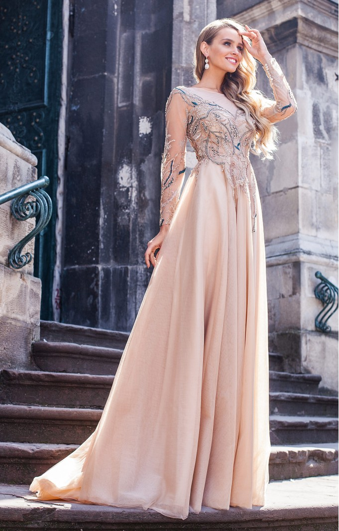 "Couture dress ""Elin"""