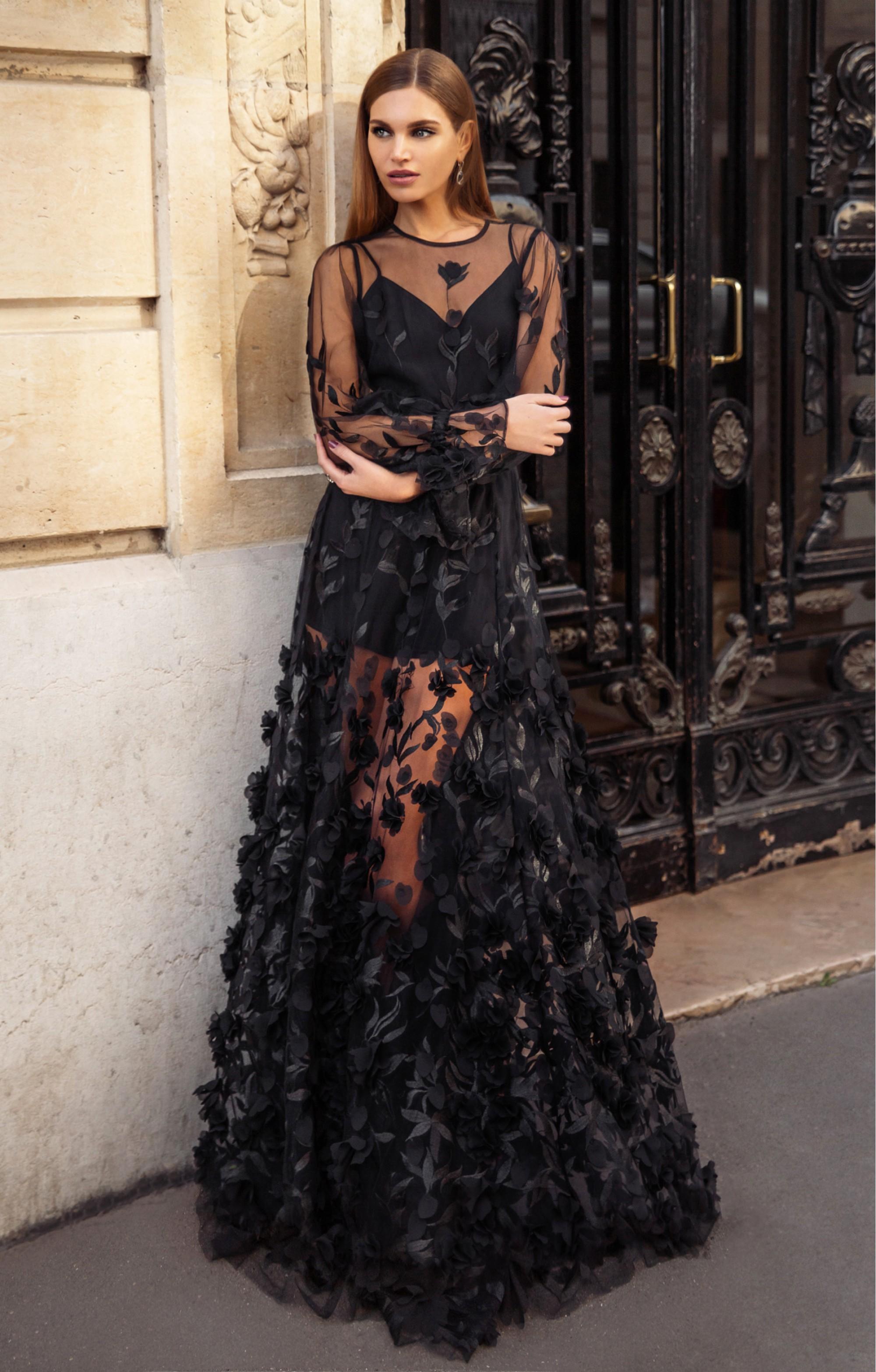 "Kleid ""Francesca"" Schwarz"