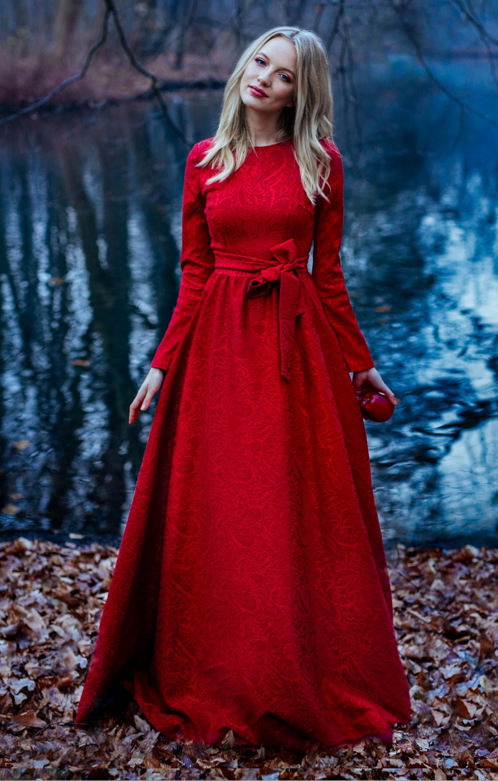 "Abendkleid ""Isabel"" Rot"