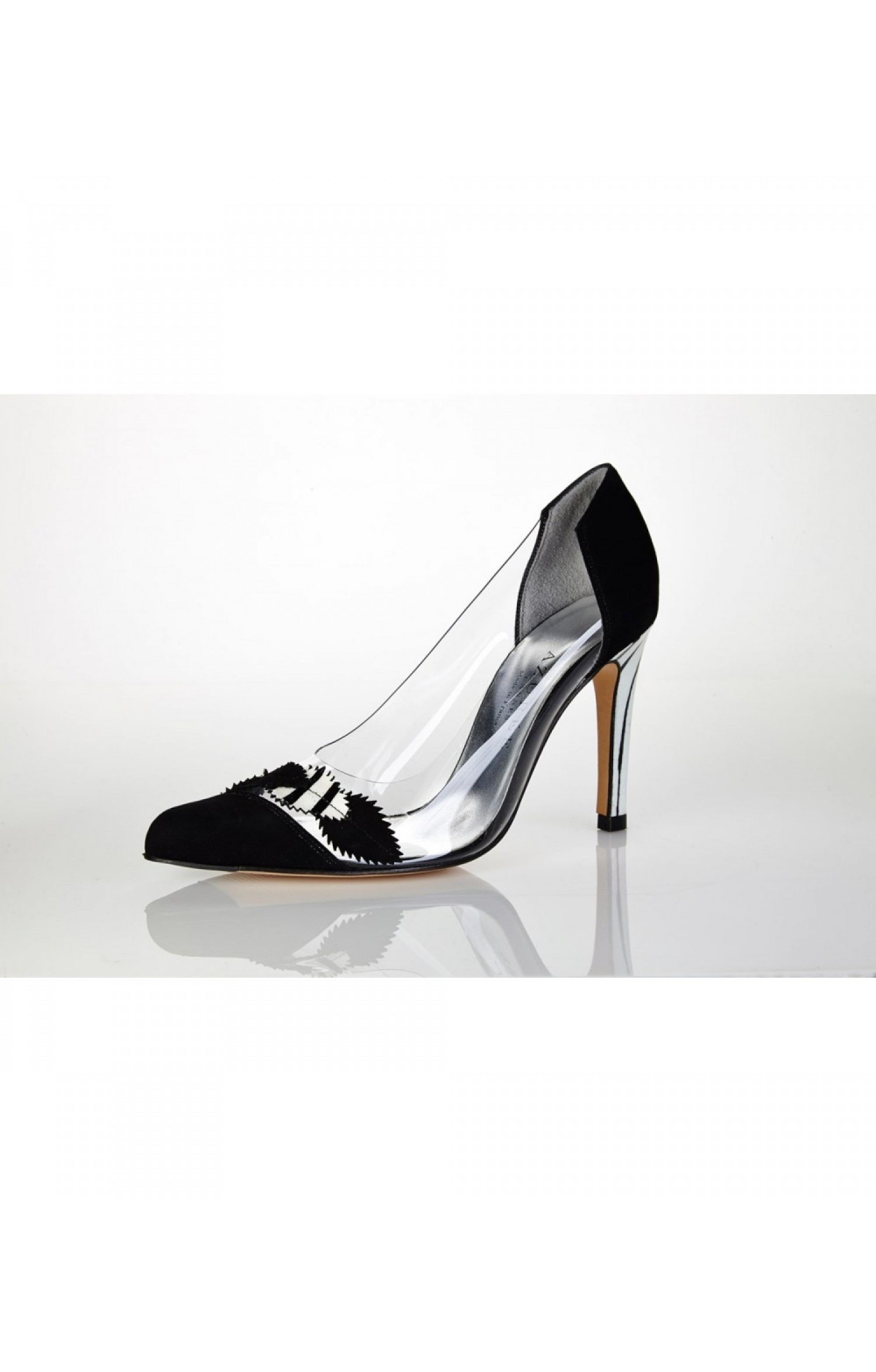 Azurée Cannes Pumps LEGATO Velour Black
