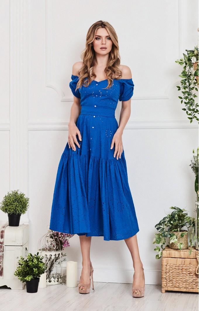 "Sommerkleid ""Alina"" Blau"