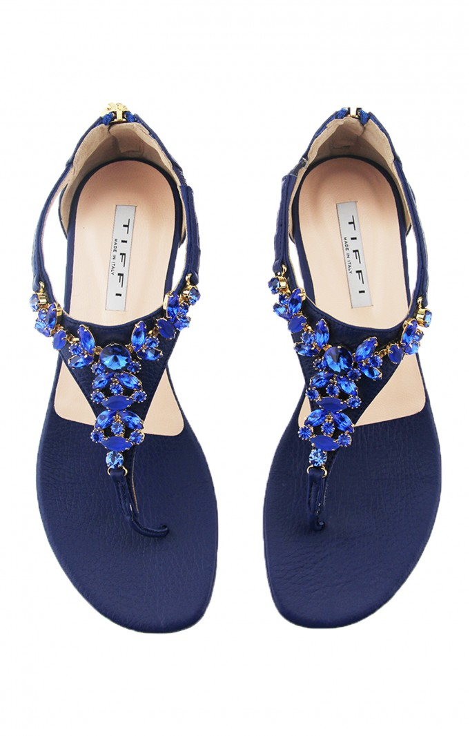 Tiffi Sandals DOLLARO FRANGIPANE BLUE