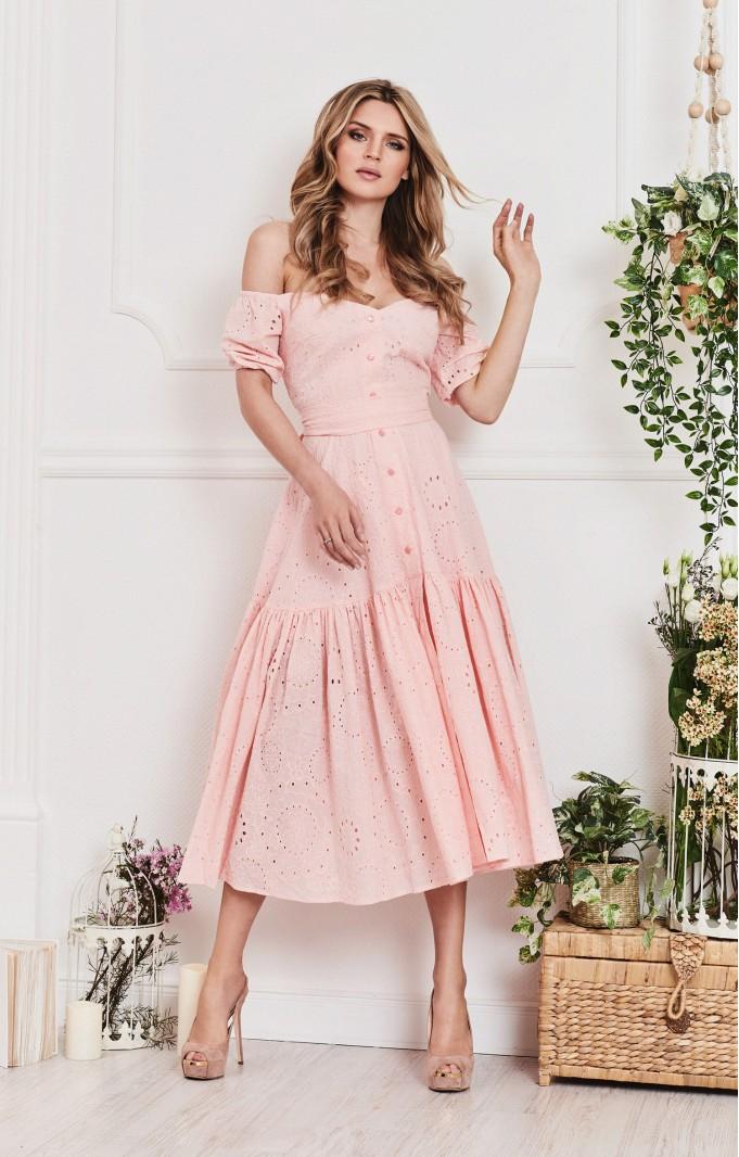 "Summer dress ""Alina"" Pink"