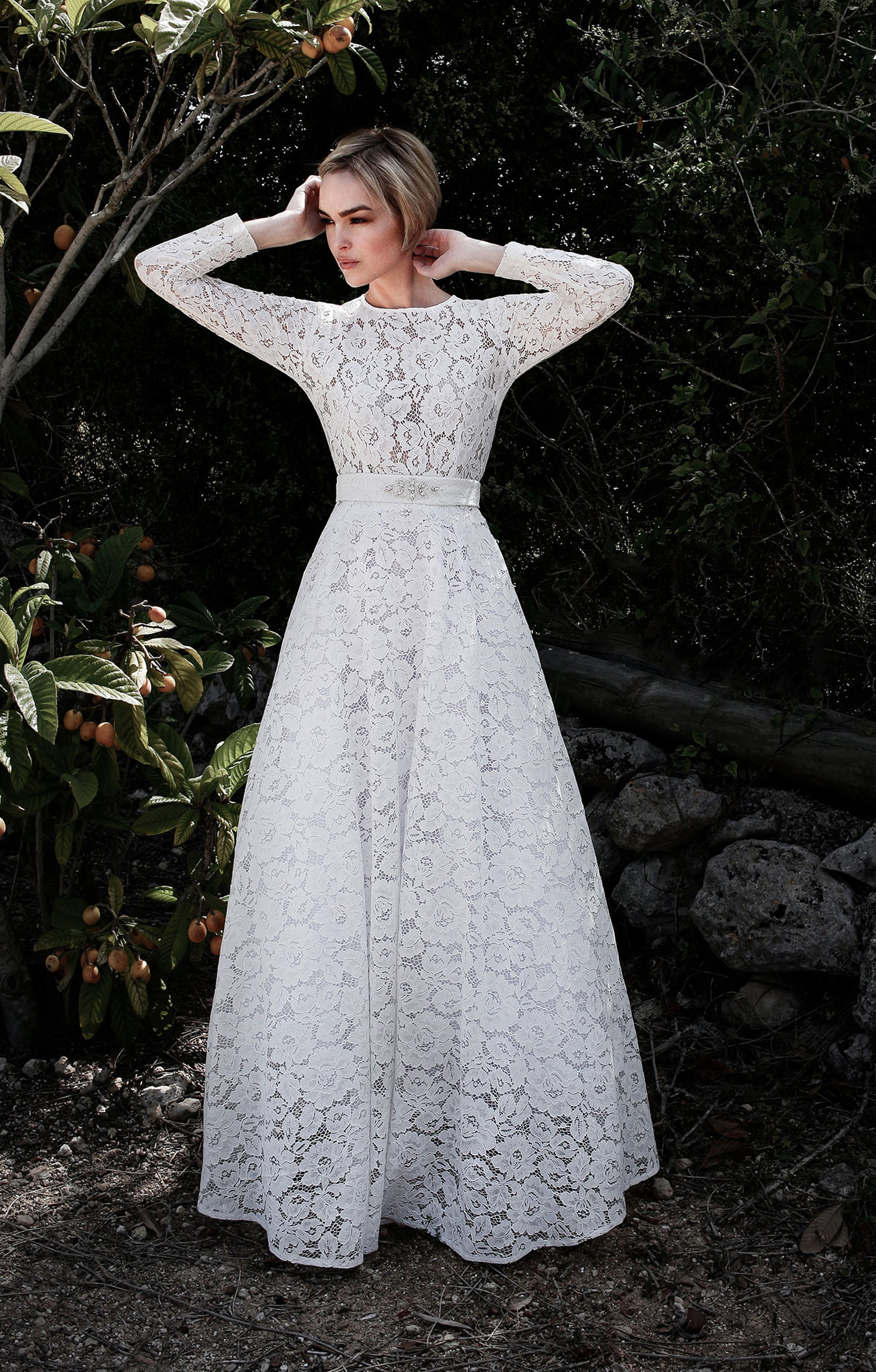 Stoff für Brautkleider